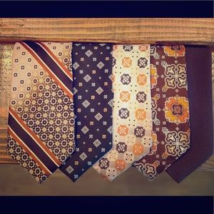 Lot of 21 vintage 60's & 70's polyester ties!